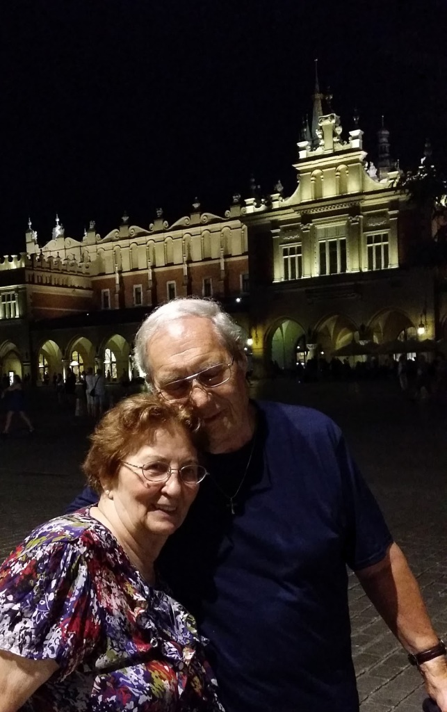 Dad and Mom in Krakow